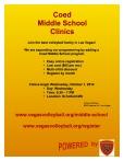 Middle School flyer (Oct-Nov-Dec)
