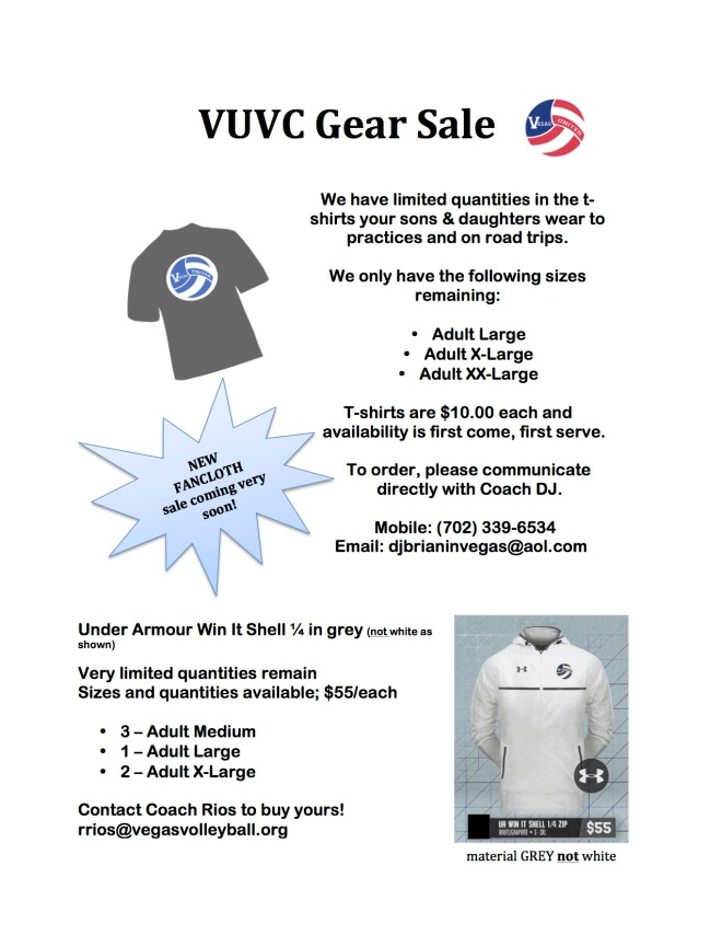 vuvc-gear-sale-jan-20