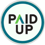 paid up logo
