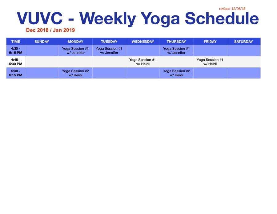 weekly yoga schedule-weekly